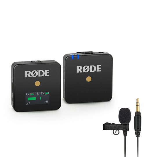 RODE Wireless GO + klopový mikrofon