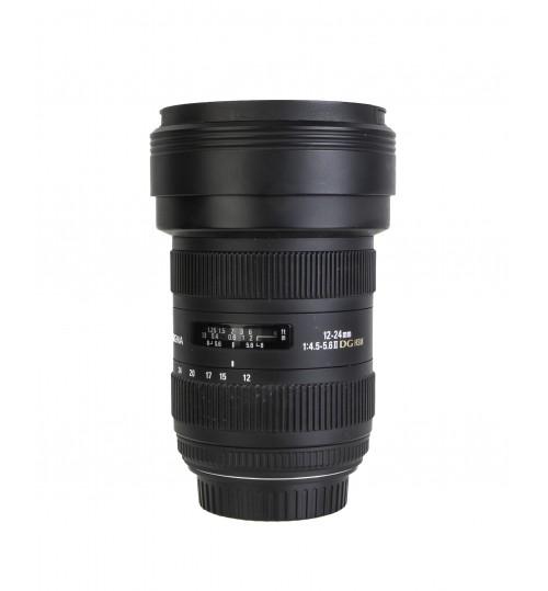 Zoom objektiv SIGMA AF 12-24mm f/4,5-5,6 II DG HSM